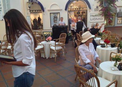 Allestimento Chanel a Capri, Quisisana (2)