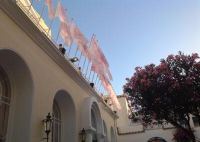 Allestimento Chanel a Capri, Quisisana (1)