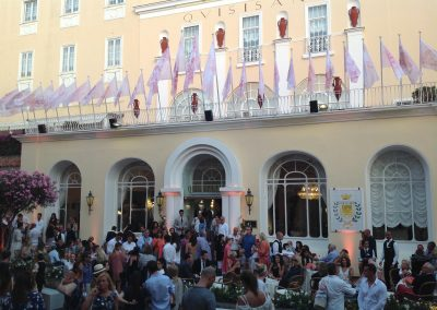 Allestimento Chanel a Capri, Quisisana (5)
